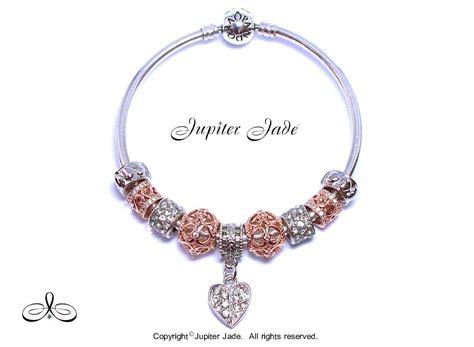 authentic pandora silver bangle bracelet charms