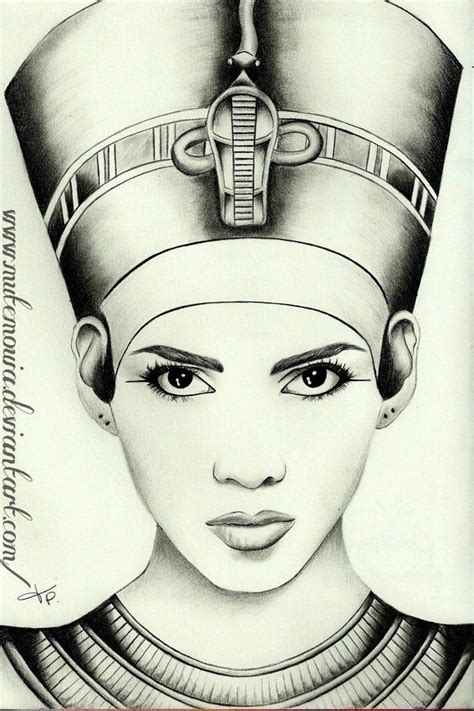 egyptian queen tattoos gallery black drawing