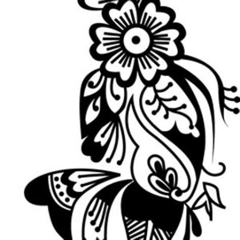 henna vector free download
