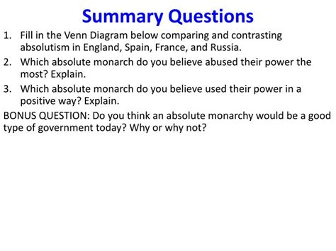 the age of absolutism section 1 quiz ppt aim how should we remember the age of absolutism