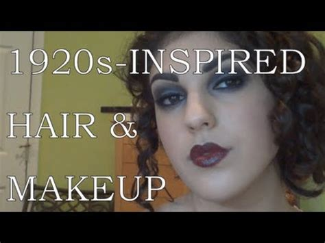 1920s wavy hair tutorials 1920s inspired makeup tutorial and hairstyle for long hair