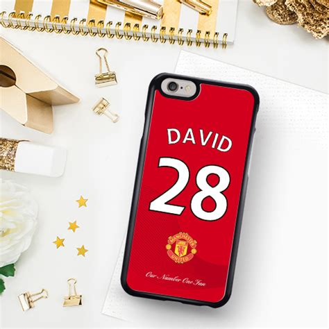 united contact manchester united fan phone case greetings world