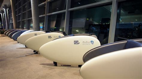 sleeping pods up close with abu dhabi airport s futuristic sleeping pods