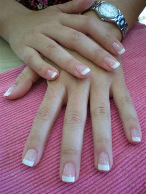 fotos de uñas acrilicas francesas u 241 as acrilicas naturales