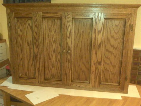 Flat Screen Tv Wall Cabinets by Wall Cabinet For Flat Screen Tv By Wayneo Lumberjocks