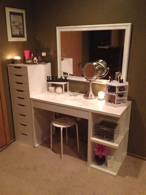 dresser with desk 243 best images about diy vanity area on pinterest