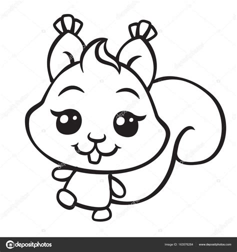 cute squirrel coloring pages a squirrel is brown coloring page cute squirrel coloring