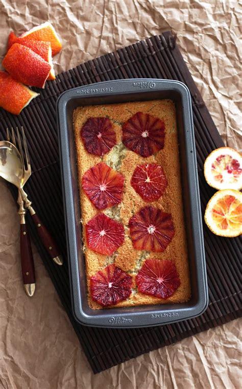 blood oranges magic blood orange magic custard cake leelalicious