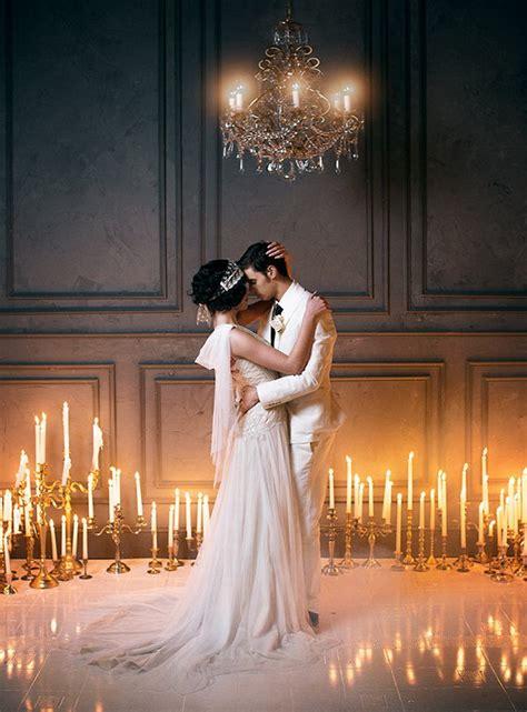the great gatsby wedding ideas tulle chantilly wedding