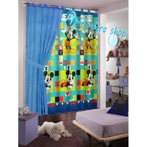 tende stanzetta tenda topolino in cotone con asole per finestra