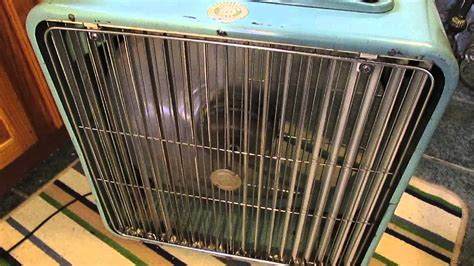 20 inch metal box fan 1960 lasko 20 inch oscillating vintage box fan