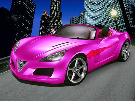 pink cars tuned concept pink car wallpapers hd wallpapers id 753