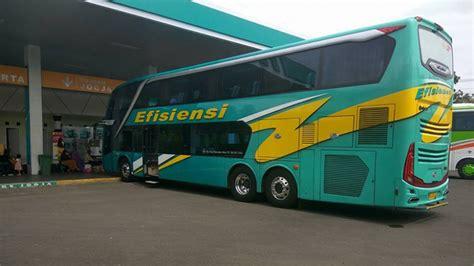 review bus super double decker po efisiensi kebumen bus
