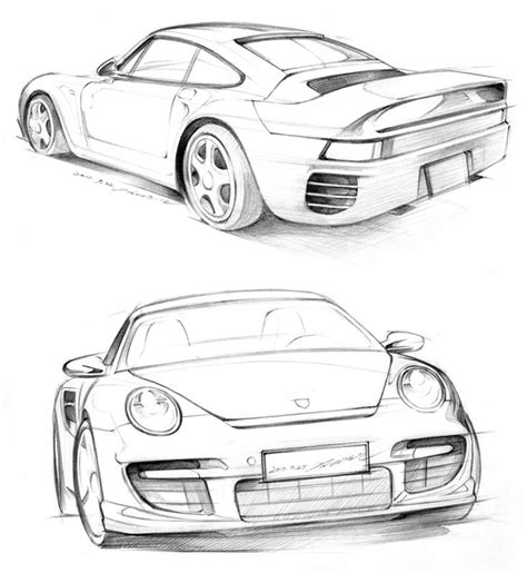 Skizze Auto by Simple Car Drawings In Pencil Www Pixshark Images