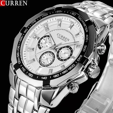 2018 new curren watches top luxury brand design