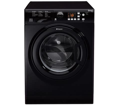 black machine buy hotpoint wmfug842k smart washing machine black free delivery currys