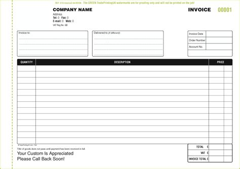 invoice books from 163 65 with our free invoice books templates
