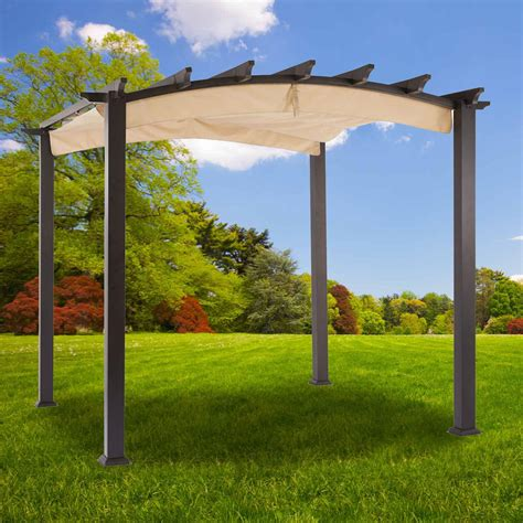 pergola replacement canopy home depot canada gazebo replacement canopy cover garden