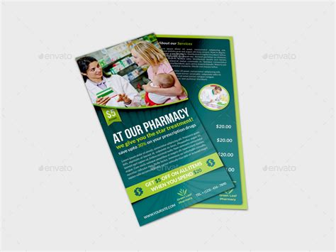 dl size flyer template pharmacy flyer dl size template by owpictures graphicriver