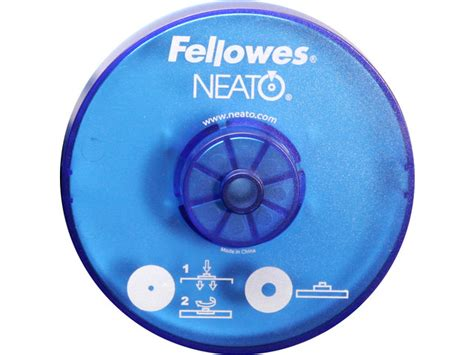 fellowes neato cd labels template free software