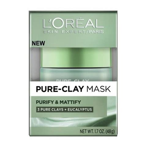 Loreal Clay Mask Purify new l oreal purify mattify clay mask clay