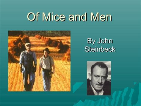 themes in of mice and men of mice and men background themes ppt