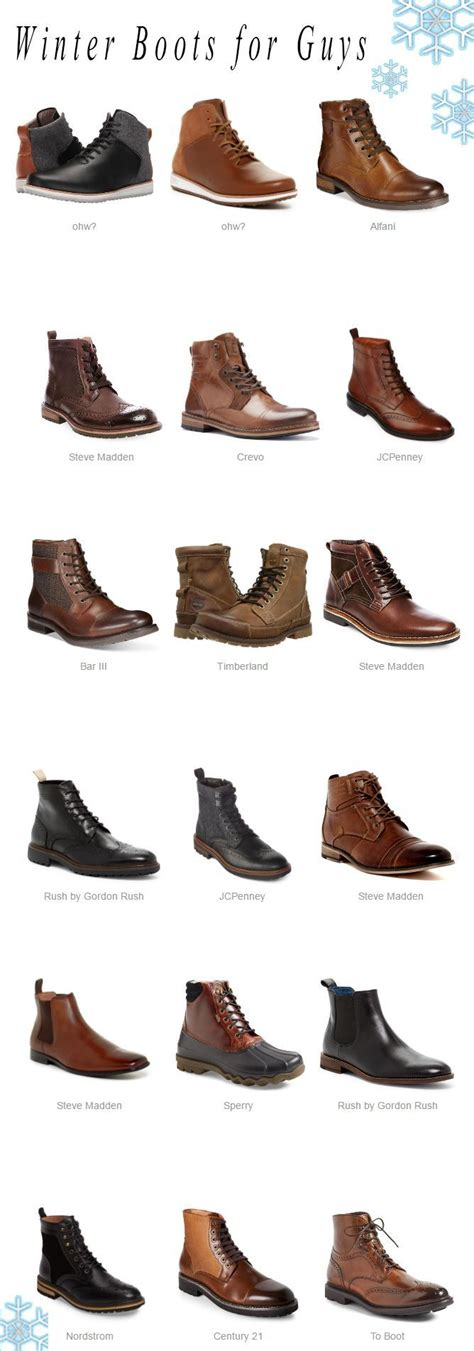 mens boot types best 25 mens boots style ideas on s boots