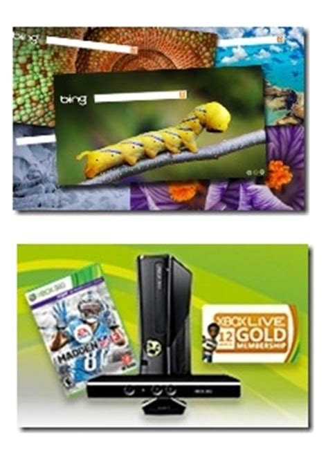 Xbox 360 Sweepstakes - ultimate bing experience and xbox 360 prize pack with madden nfl 13 sweepstakes