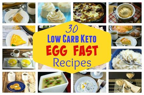 fasting diet egg fast diet plan recipes for weight loss low carb yum