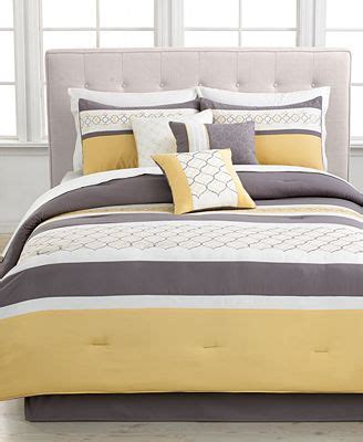 macy s bedding clearance closeout viscaya 7 piece embroidered comforter sets bed