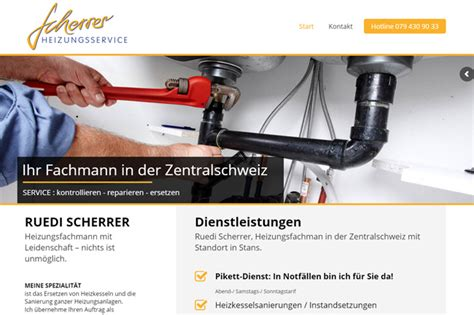 New Website For Search New Website For Repairman Webdesign Portfolio Richli
