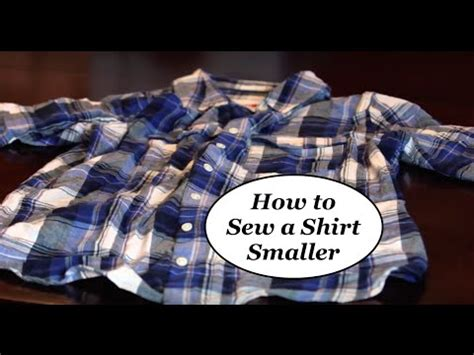 Smaller Line Blouse Hq how to make a shirt smaller easy diy the dixon