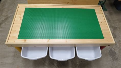 buy lego table lego table with storage for loris decoration
