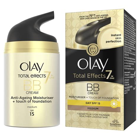 Olay Bb olay total effects 7 in 1 touch of foundation bb