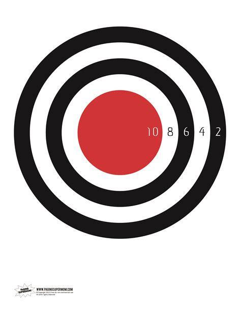 printable star targets ninja game target printable paging supermom