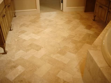 travertine bathroom floor travertine floors your model home