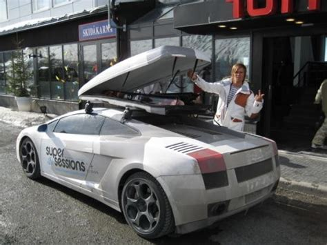 Lamborghini Ski Rack Roof Rack With Skis Mbworld Org Forums