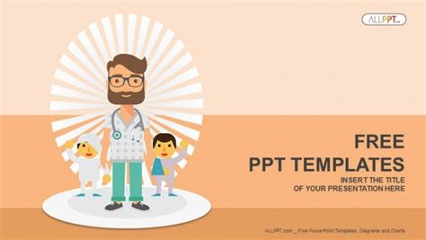 free ppt templates for hospital management doctor and patients powerpoint templates