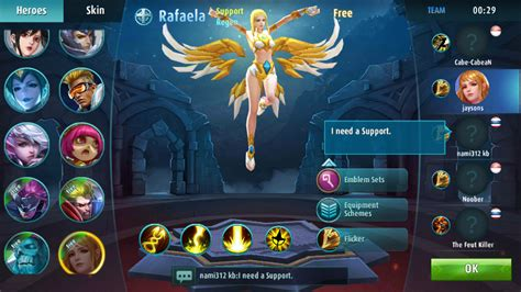 mobilelegends noxplayer emulador de android  pc
