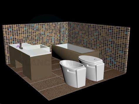 model bathtub 3d model bathroom in the style of japanese id 10046