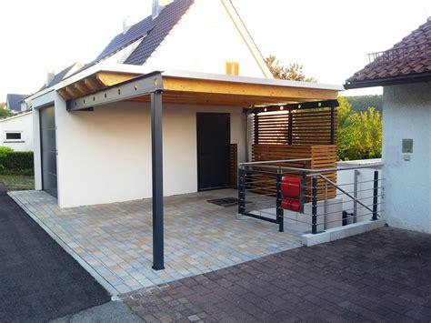 stahlbau carport carport mit dachbegr 252 nung rhombus wandverkleidung