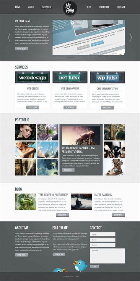 web layout design in photoshop create a fabric textured web layout using photoshop