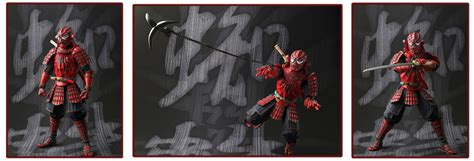 Bandai Meisho Realization Samurai Spider spider figures the best of s h figuarts nendoroid more from japan