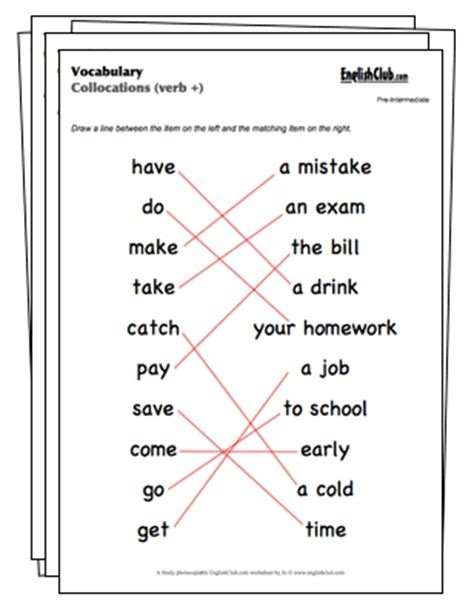 printable vocabulary games vocabulary worksheets englishclub com