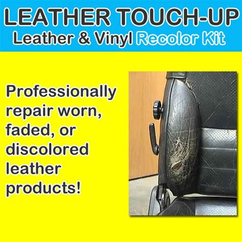 leather touch up recolor kit new easy