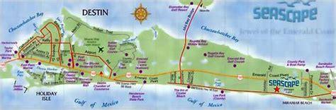 map of destin florida area destin florida map images