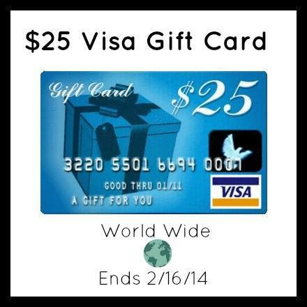 enter to win 25 visa gift card what would you do with this prize - What Can You Do With A Visa Gift Card