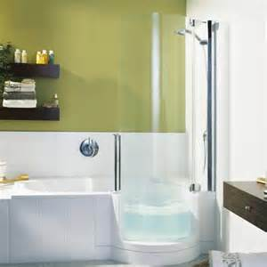 Bath Shower Combination Enjoy Steam Shower And The Bathtub All At The Same Time