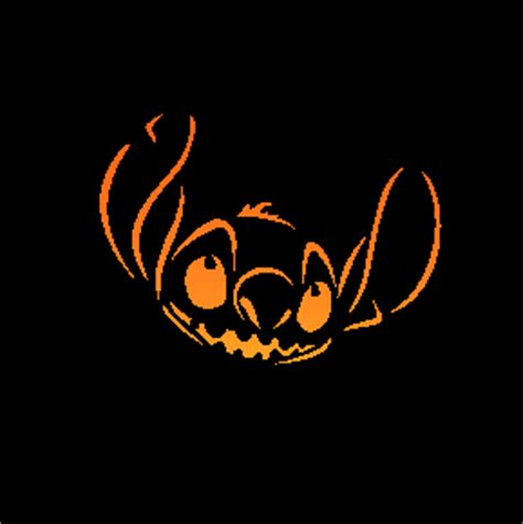 disney pumpkin carving stencils stitch