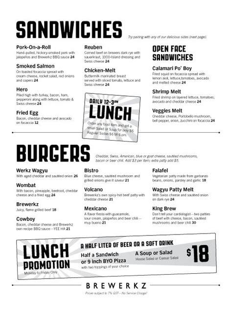 Menu Ideas For - 17 best images about sandwich shop ideas on